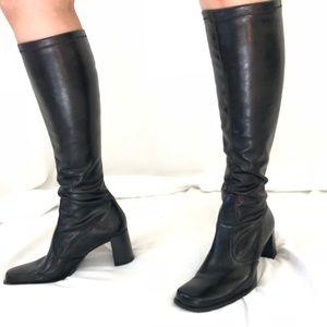 "Franco Sarto good condition ""tights"" style boots"